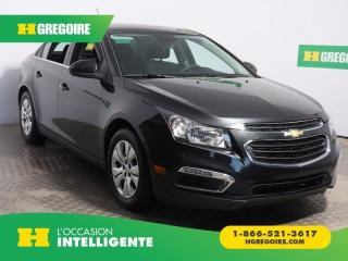 Used 2015 Chevrolet Cruze 1lt A/c Gr Elect for sale in St-Léonard, QC