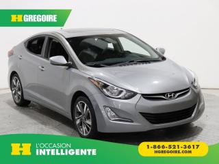 Used 2016 Hyundai Elantra GLS A/C TOIT MAGS for sale in St-Léonard, QC