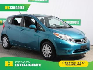 Used 2014 Nissan Versa SV A/C GR ELECT for sale in St-Léonard, QC
