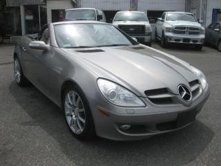 Used 2006 Mercedes-Benz SLK 350 3.5L Auto AC Convertible htd leather PL PM PW for sale in Ottawa, ON