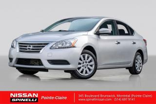 Used 2015 Nissan Sentra S Demareur A for sale in Montréal, QC