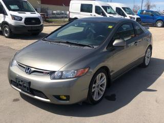 Used 2008 Honda Civic coupe si for sale in Winnipeg, MB