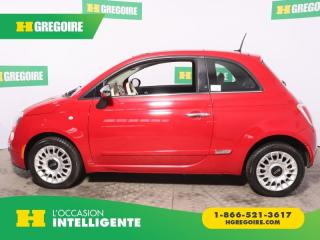 Used 2013 Fiat 500 LOUNGE A/C CUIR TOIT for sale in St-Léonard, QC