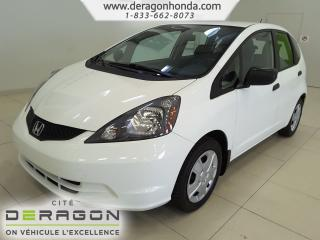 Used 2014 Honda Fit Dx-A+a/c+vi for sale in Cowansville, QC