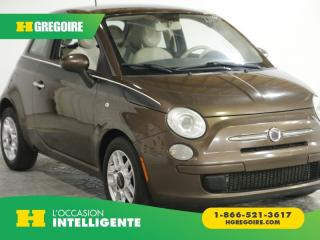 Used 2012 Fiat 500 POP AC GR ELEC for sale in St-Léonard, QC