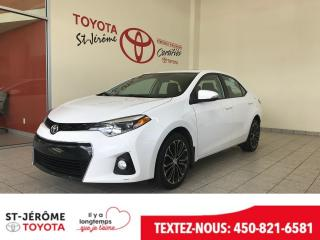 Used 2015 Toyota Corolla Toit Mags Cuir for sale in Mirabel, QC