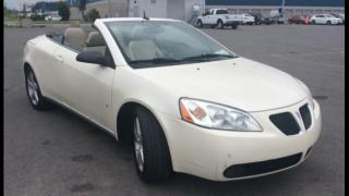 Used 2008 Pontiac G6 Cabriolet à 2 portes GT for sale in Charny, QC