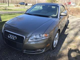 Used 2007 Audi A4 Convertible for sale in Charny, QC