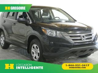 Used 2014 Honda CR-V LX AC GR ELEC for sale in St-Léonard, QC