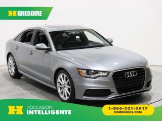 Used 2015 Audi A6 3.0T TECHNIK QUATTRO for sale in St-Léonard, QC