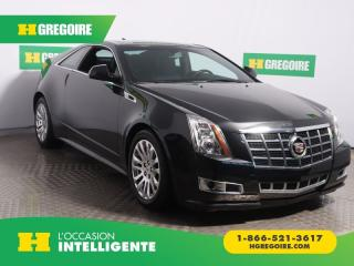 Used 2013 Cadillac CTS PERFORMANCE AWD CUIR for sale in St-Léonard, QC