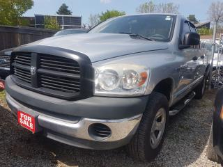 Used 2007 Dodge Ram 1500 ST- HEMI - 4X4 - CREWCAB - CHROMED ALLOYS for sale in Scarborough, ON