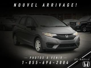 Used 2015 Honda Fit LX for sale in St-Basile-le-Grand, QC