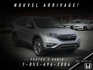 Used 2016 Honda CR-V AWD Touring for sale in St-Basile-le-Grand, QC