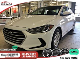 Used 2017 Hyundai Elantra LE SIEGES CH for sale in Québec, QC