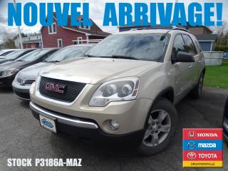 Used 2008 GMC Acadia Sle|awd|7places|audi for sale in Drummondville, QC