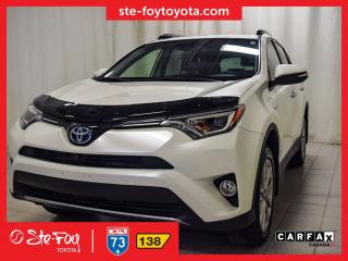Used 2017 Toyota RAV4 Ltd Hybride Cuir for sale in Québec, QC