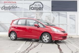 Used 2014 Honda Fit LX ***GARANTIE 10 ANS/200 000 KM*** for sale in Québec, QC
