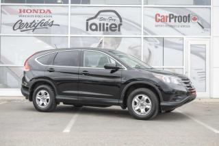 Used 2014 Honda CR-V LX ***GARANTIE 10ANS/200 000KM*** for sale in Québec, QC