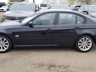 Used 2011 BMW 3 Series 328I; LOADED, NAV, BACKUP ASSIST, HEATED SEATS, LEATHER, SUNROOF AND MORE for sale in Edmonton, AB