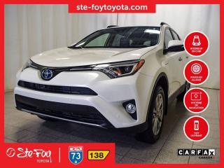 Used 2018 Toyota RAV4 Ltd Hybride Cuir for sale in Québec, QC