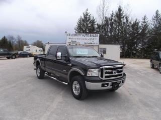Used 2007 Ford F-350 4X4 LARIAT 4 DOOR for sale in Elmvale, ON