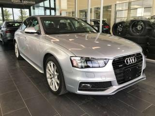 Used 2015 Audi A4 HEATED SEATS, NAVI, REAR VIEW CAMERA for sale in Edmonton, AB