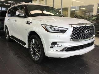 New 2019 Infiniti QX80 PROACTIVE PACKAGE for sale in Edmonton, AB