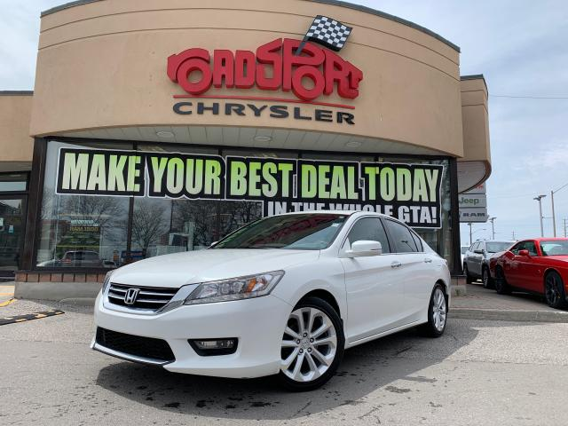 2014 Honda Accord Touring+NAVIGATION+LEATHER+SUNROOF+MORE