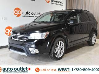 Used 2015 Dodge Journey SXT, FWD, POWER WINDOWS, STEERING WHEEL CONTROLS, CRUISE CONTROL, PUSH-TO-START, FRONT & REAR A/C, AM/FM RADIO, SATELLITE RADIO, NAVIGATION, BACKUP CAMERA, SUNROOF for sale in Edmonton, AB