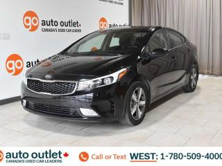 Used 2018 Kia Forte LX, FWD, POWER WINDOWS, STEERING WHEEL CONTROLS, CRUISE CONTROL, A/C, HEATED FRONT SEATS, AM/FM RADIO, SATELLITE RADIO, HANDS-FREE for sale in Edmonton, AB