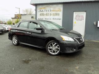 Used 2013 Nissan Sentra ***SR,AUTOMATIQUE,AIR CLIM*** for sale in Longueuil, QC