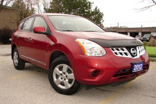 Used 2012 Nissan Rogue S for sale in Mississauga, ON