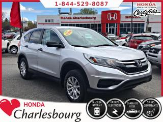 Used 2015 Honda CR-V LX AWD **UN PROPRIÉTAIRE** for sale in Charlesbourg, QC