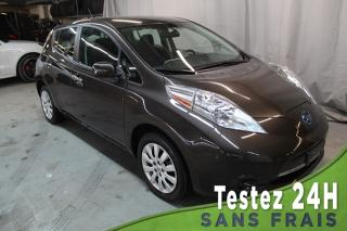 Used 2016 Nissan Leaf S (A/C,BLUETOOTH,SIEGES CHAUFFANTS) QUIC for sale in St-Constant, QC