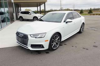 Used 2017 Audi A4 Technik for sale in Carp, ON
