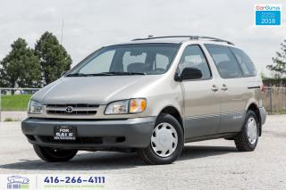 Used 2000 Toyota Sienna CLEAN CARFAX CERTIFIED SERVICED ONLY 138K COLD A/C for sale in Bolton, ON