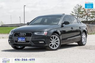 Used 2014 Audi A4 6 Spd M-6 Progressiv NavGps BrownLeather Certified for sale in Bolton, ON