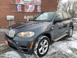 Used 2011 BMW X5 35d/DIESEL/NO ACCIDENT/CERTIFIED for sale in Cambridge, ON