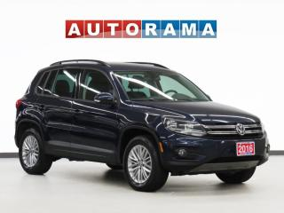 Used 2016 Volkswagen Tiguan Comfortline AWD Backup Cam for sale in Toronto, ON