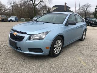 Used 2011 Chevrolet Cruze LS+ w/1SB/NO ACCIDENT/SAFETY INCLUDED for sale in Cambridge, ON