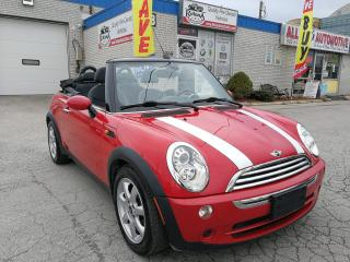 Used 2007 MINI Cooper Convertible Convertible_Accident Free_Manual_Leather for sale in Oakville, ON