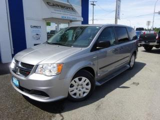 Used 2014 Dodge Grand Caravan SE, Leather, Heated Seats, Stow and Go, 7 Pass. for sale in Langley, BC