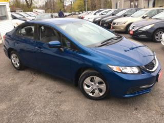 Used 2015 Honda Civic LX/ AUTO/ PWR GROUP/ BLUETOOTH/ CRUISE CTRL/ ECO for sale in Scarborough, ON