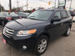 Used 2012 Hyundai Santa Fe Limited l Navigation l No Accidents for sale in Waterloo, ON