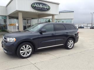Used 2013 Dodge Durango 7 PASS / 4X4 / NO PAYMENTS FOR 6 MONTHS !! for sale in Tilbury, ON