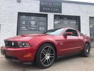 Used 2012 Ford Mustang GT Premium ONE OWNER NO ACCIDENTS Heated Seats for sale in Guelph, ON