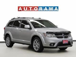 Used 2013 Dodge Journey CREW PKG BACK UP CAMERA 7 PASSENGER for sale in Toronto, ON