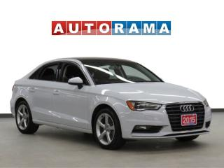 Used 2015 Audi A3 KOMFORT PKG AWD LEATHER SUNROOF for sale in Toronto, ON