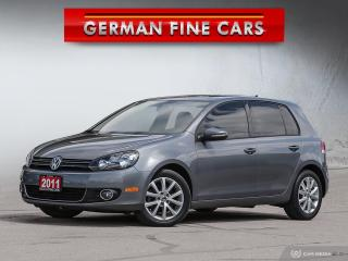 Used 2011 Volkswagen Golf 2011 VOLKSWAGEN GOLF TDI *** 6SPEED MANUAL for sale in Bolton, ON